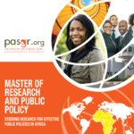 Master of Research and Public Policy Scholarships