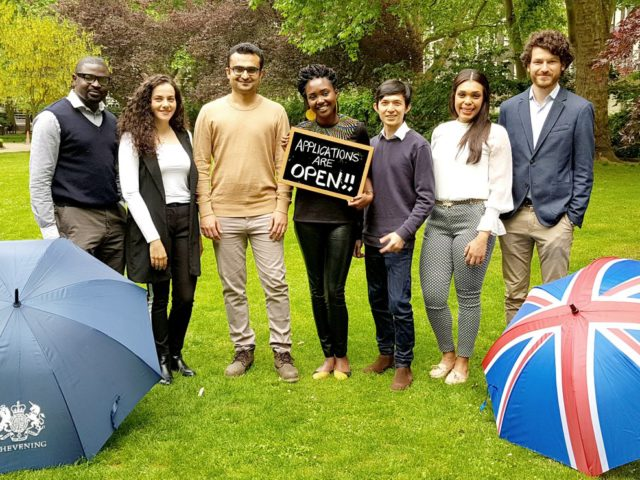 Applications for 2019/2020 Chevening Scholarships are open